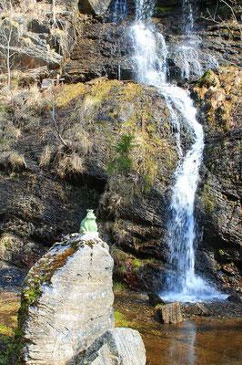 Romkerhaller Wasserfall Froschkönig