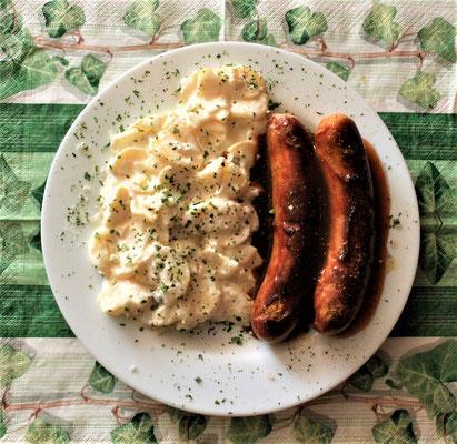 11.01.2020 Bratwurst mit Kartoffelsalat