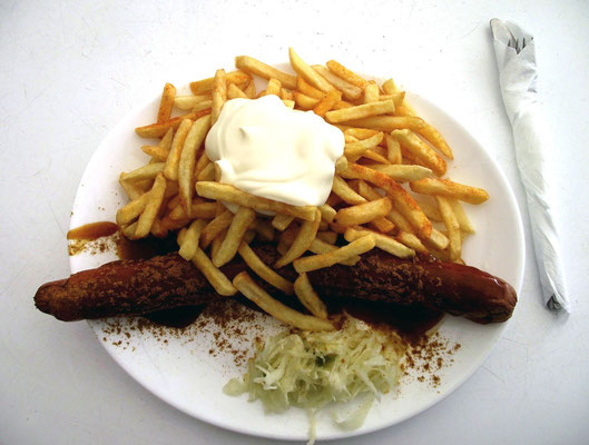 super lecker Currywurst