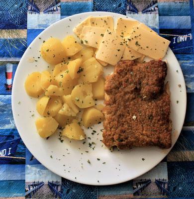 09.04.2020 Kräuterfisch mit Kartoffeln und Butter