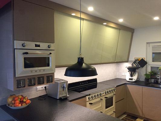Küche im Retrolook