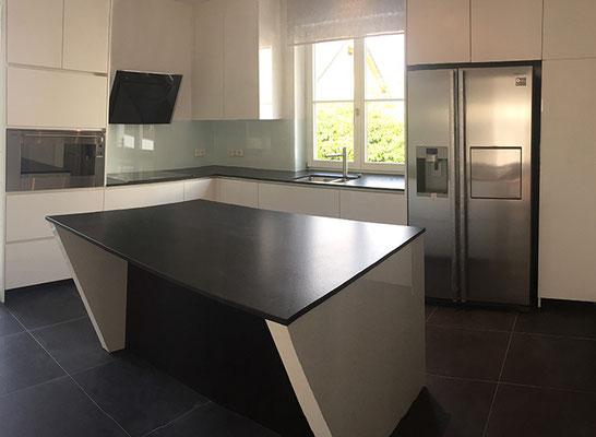 Küche hochglanz Innenausbau Katz Mannheim