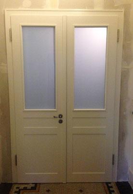 Wohnungstür restauriert Innenausbau Katz Mannheim