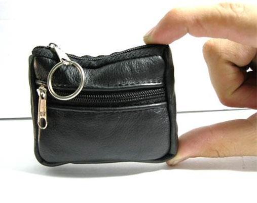 monedero de bolsillo negro