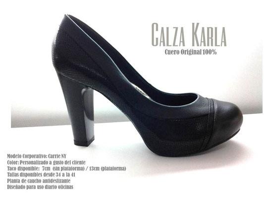zapato negros con plataforma