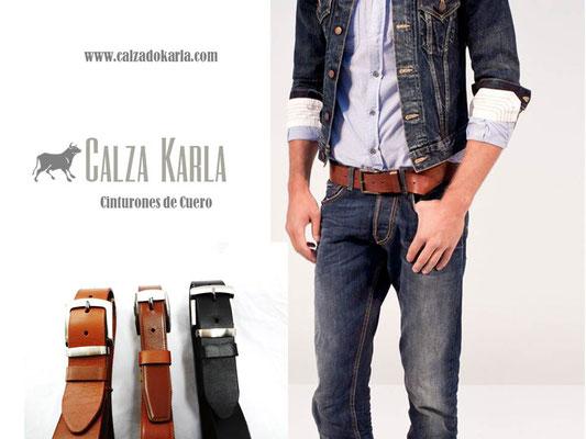 cinturon de cuero para jeans