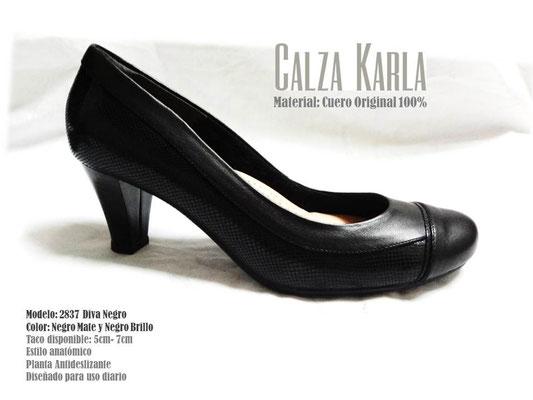 Calzado Karla | zapato negro ejecutivo