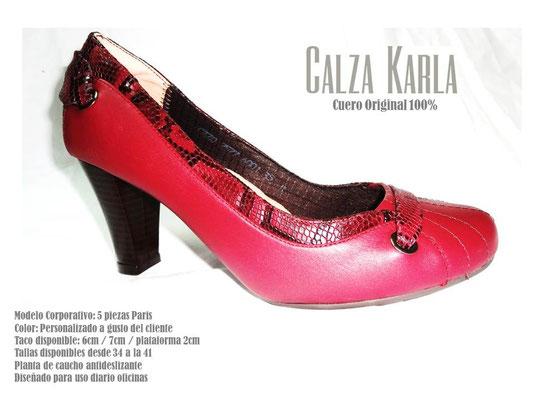 Calzado Karla | zapato con taco