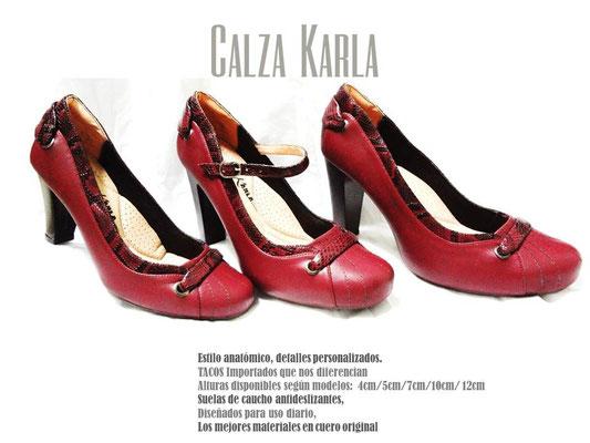 Calzado Karla | zapato con plataforma