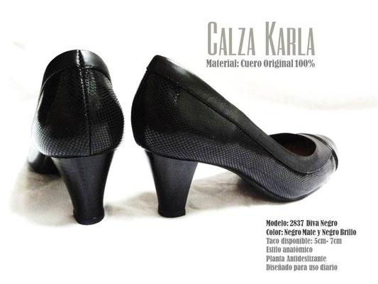 Calzado Karla | zapato con taquito