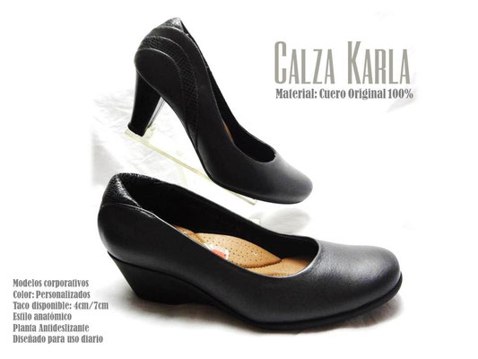 zapato de cuero CalzadoKarla | anatomicos | para uniformes
