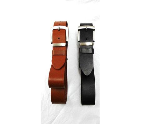 cinturon de cuero casual mediano