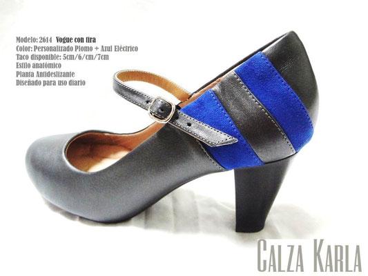 zapato con correo