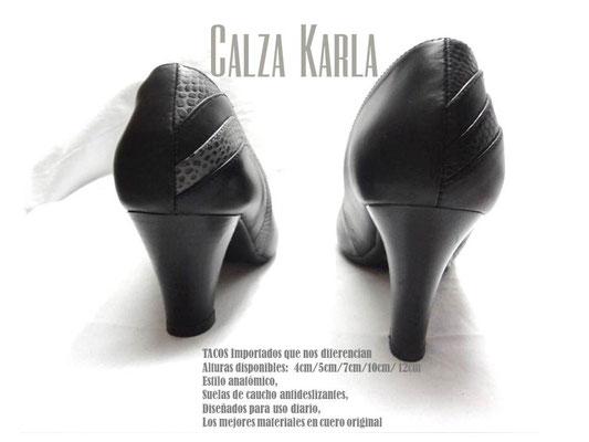 CalzaKarla | estilo anatomico | zapatos para uniformes