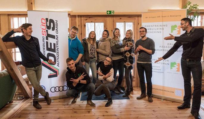 """Teambuilding - """"Löwenstarkes"""" Azubi-Event für das Autohaus Vöetz Magdeburg"""