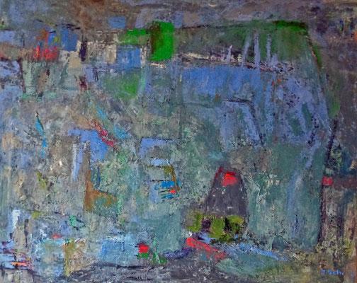 Märchenlandschaft, 2015, 80 x 100 cm,  Öl auf Leinwand