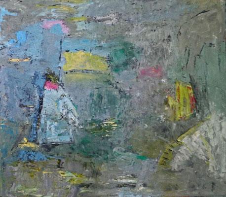 Ohne Titel, 2015, 70 x 80 cm, Öl auf Karton