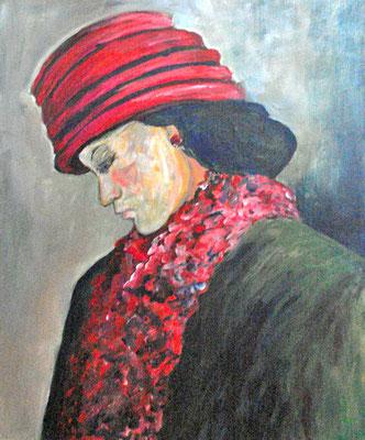 Acryl auf Malpappe  / 60 x 50 cm