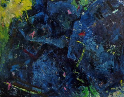 Oel auf Leinwand / 80 x 100 cm