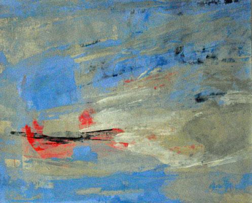 Acryl auf Papier / 19,3 x 22 cm