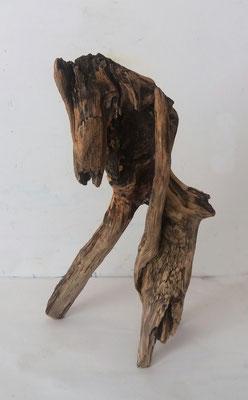 Fabelwesen, 2017, Holz, 27 x15  x 15 cm