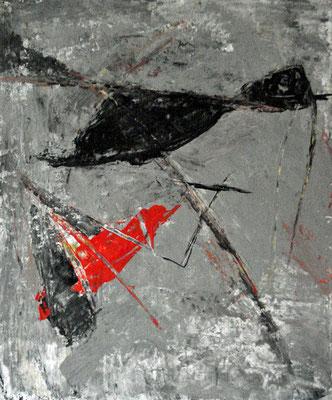 Tempera und Tusche auf Papier / 29,4 x 26,5 cm