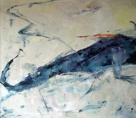 Oel auf Leinwand / 70 x 80 cm