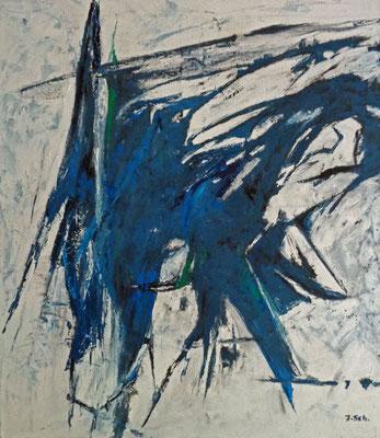 Vögel, 2015, 80 x 70 cm, Öl auf Leinwand