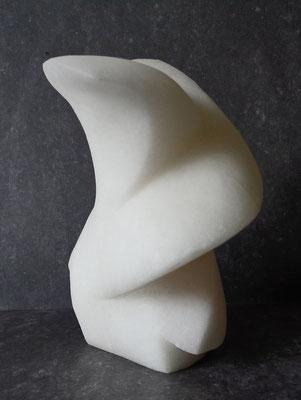 O. T., 2016. ca 18 x 16 x 12 cm, Alabaster