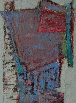 Abstrakt, 2016, 40 x 30 cm, Öl auf Hartfaserplatte