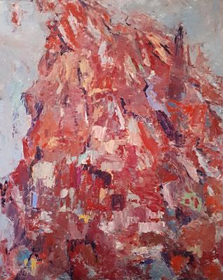 O. T., 2018, 100 x 80 cm, Oel auf Leinwand