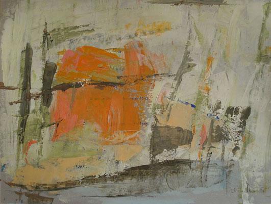 Acryl, Tempera und Gouache auf Papier / 22,2 x 29,6 cm