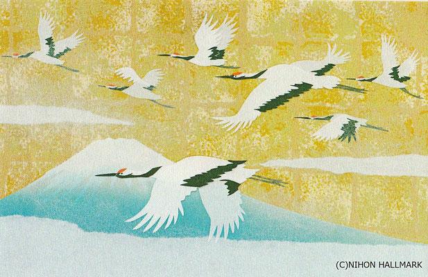 和風クリスマスカード・日本ホールマーク社より発売