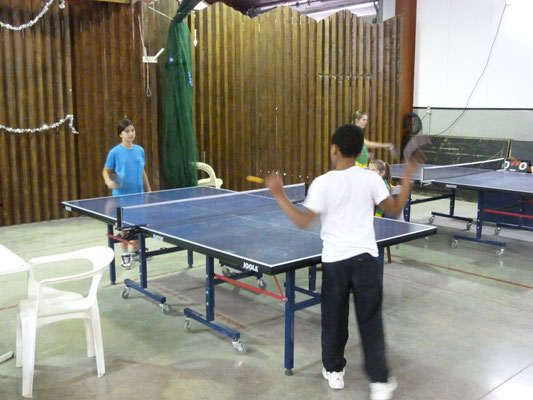 Manon et Yannick en tournoi loisirs