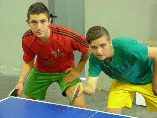 Les coachs d'Escragnolles, Marius et Ugo