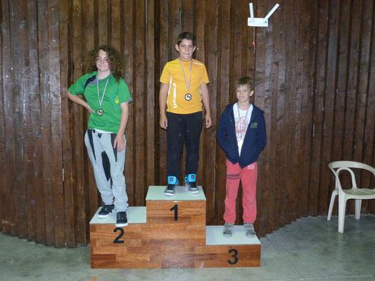 Podium jeunes, victoire de Rémi de Châteauneuf