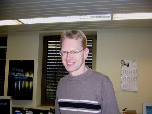 Jörg Niggemann vom TAH war auch bei meiner Verabschiedung