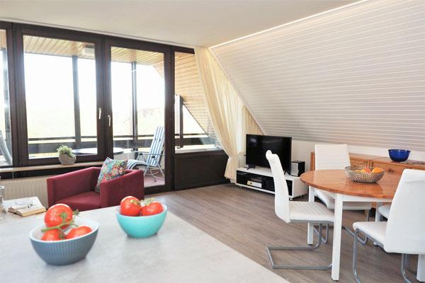 Ferienwohnung Sonnenhook in Hooksiel, Wangerland, Nordsee, 1 Wohnzimmer