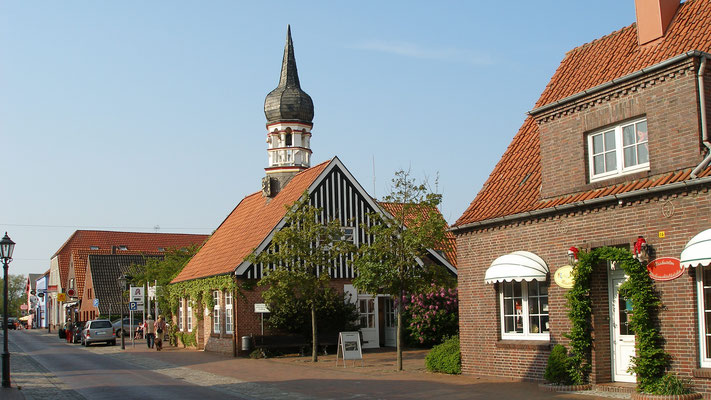 Ferienwohnung Sonnenhook, Hooksiel, Wangerland, Nordsee, Ortsmitte Hooksiel