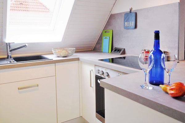 Ferienwohnung Sonnenhook in Hooksiel, Wangerland, Nordsee, Küche