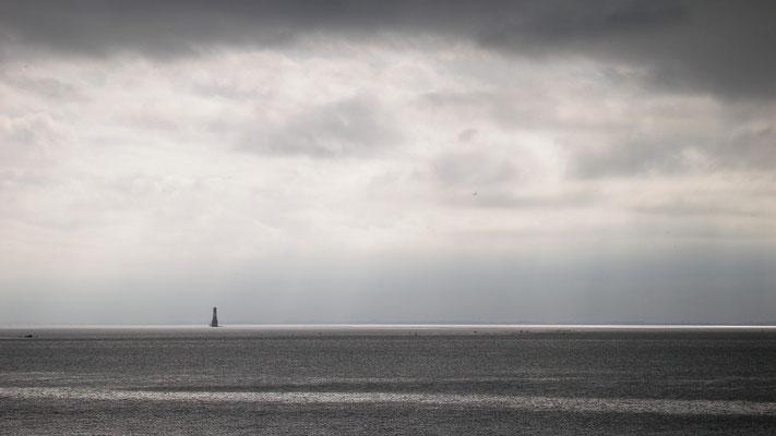 Ferienwohnung Sonnenhook, Hooksiel, Wangerland, Nordsee, weiter Blick übers Meer