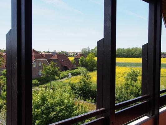 Ferienwohnung Sonnenhook in Hooksiel, Wangerland, Nordsee, 1 Balkon, überdachtSüden