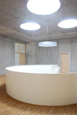 Erweiterung Technologiepark: Obergeschoss