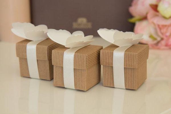 20 Stk Pillow Boxen Kissenschachteln Geschenkverpackungen Gastgeschenke