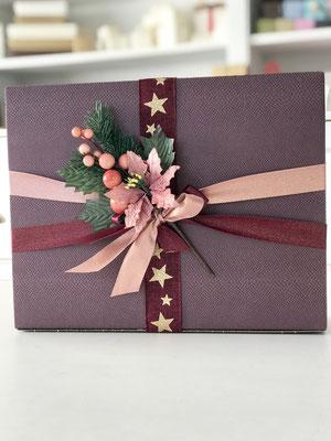 Geschenkbox für drei Weinflachen