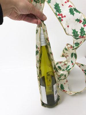 Flaschen Verpackung mit Drahtband
