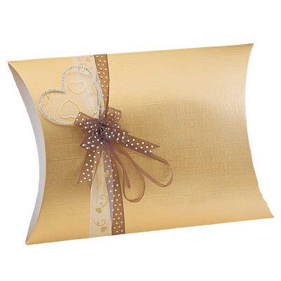 Pillow Box gold