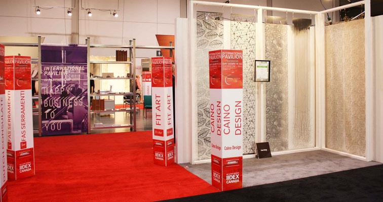 Caino-Design-stand-IIDEX-Canada-2013