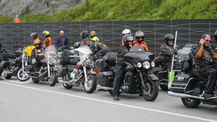 Harley Treffen in Norwegen