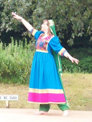 Afghanischer Tanz (Logari) - 2002 (Foto: R. Ahlgrimm)